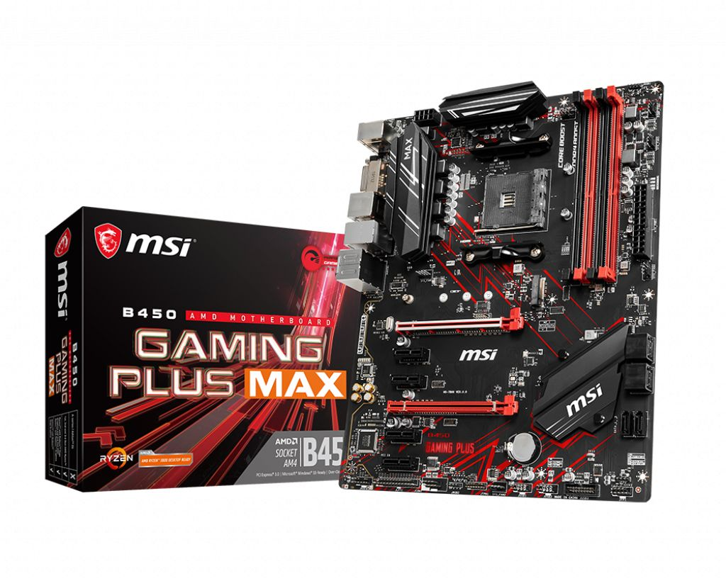 MSI B450 GAMING PLUS MAX 4xDDR4 AM4
